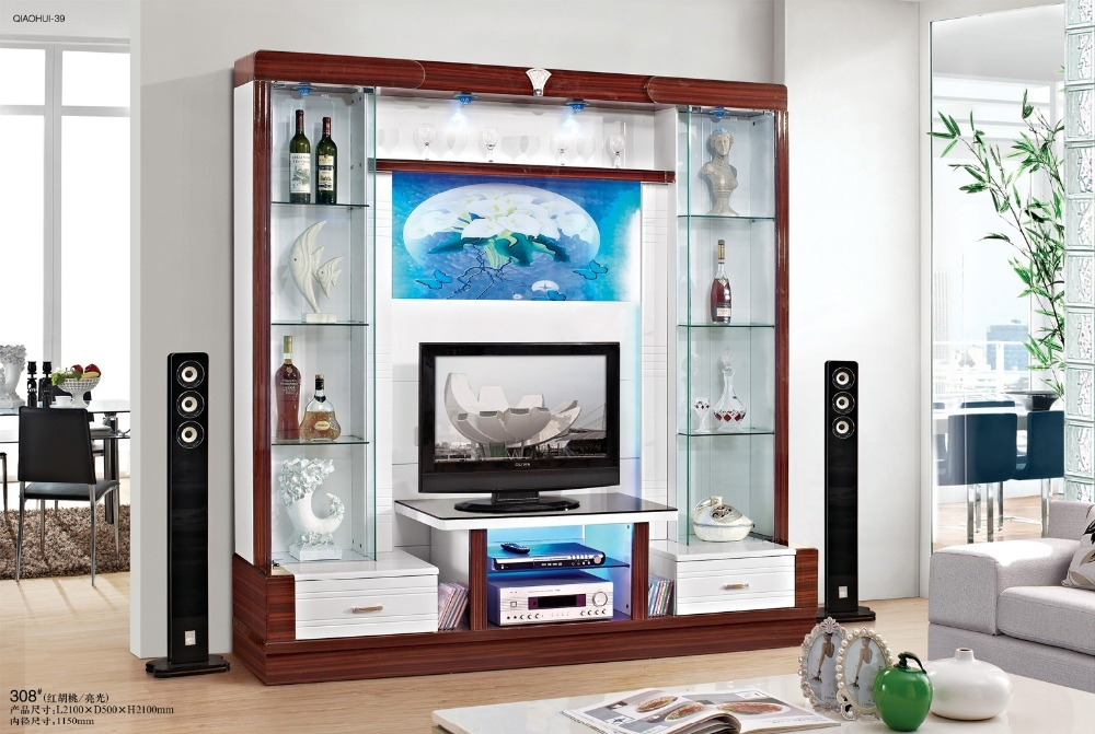 Excellent Wellknown Wall Display Units & TV Cabinets With Regard To Cabinet Decoration Picture More Detailed Picture About Tv (Image 20 of 50)