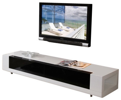 Excellent Well Known White Modern TV Stands For B Modern Editor Tv Stand White Modern Entertainment Centers (Image 14 of 50)