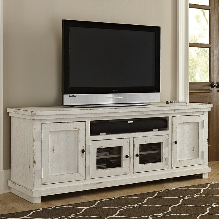 Excellent Wellliked 61 Inch TV Stands Pertaining To August Grove Willow 74 Tv Stand Reviews Wayfair (Image 17 of 50)