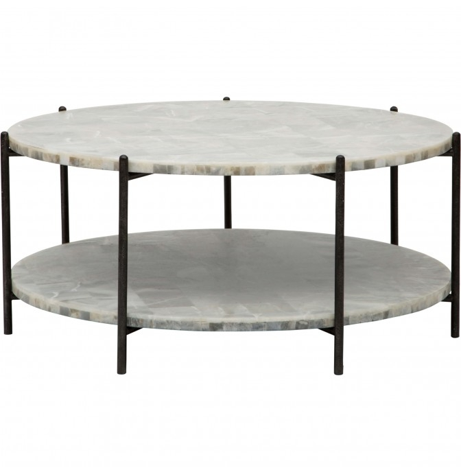Excellent Wellliked Black Oval Coffee Tables Intended For Modern Accent Coffee Tables High Fashion Home (View 36 of 40)