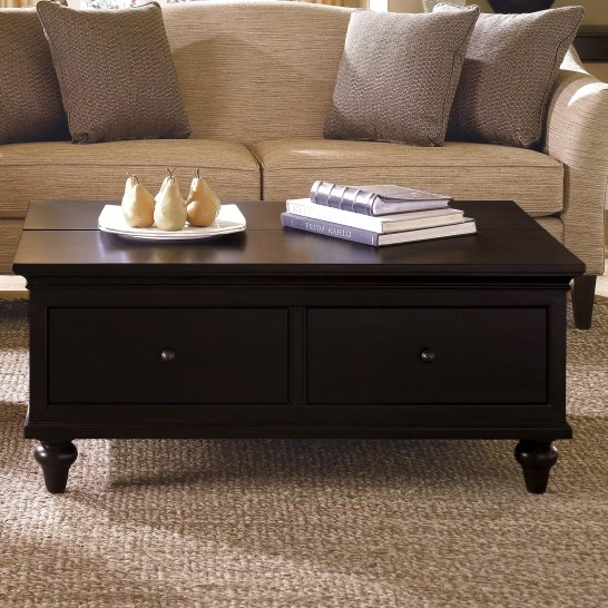 Excellent Wellliked Black Wood Coffee Tables With Regard To Coffee Table Home Furniture Dark Wood Coffee Table Dark Wood (Image 19 of 40)