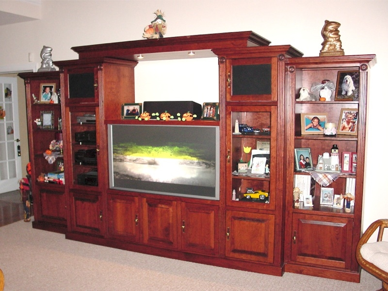 Excellent Wellliked Full Wall TV Cabinets Within Full Wall Tv Cabinets Furniture Oh Furniture (Image 15 of 50)