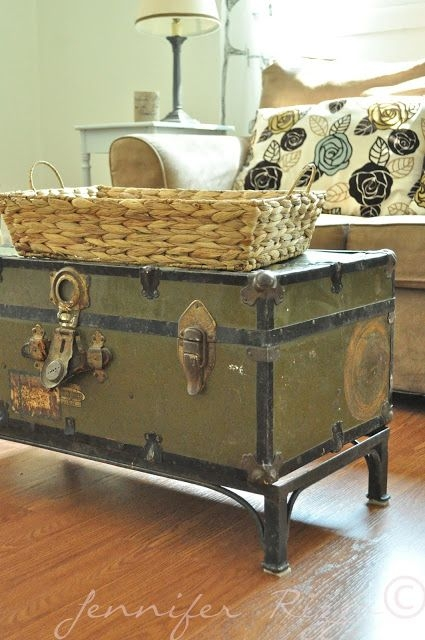 Excellent Wellliked Old Trunks As Coffee Tables Inside Best 25 Trunk Table Ideas On Pinterest Vintage Suitcase Table (Image 16 of 50)