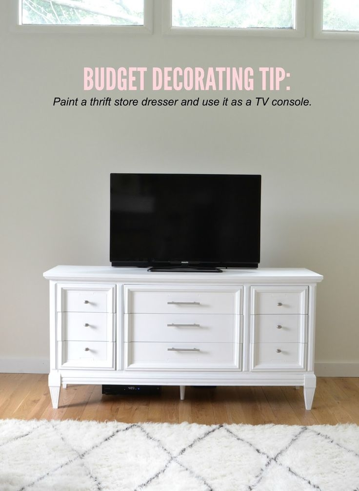 Excellent Wellliked Oval White TV Stands Throughout Top 25 Best Cool Tv Stands Ideas On Pinterest Farmhouse Cooling (Image 19 of 50)