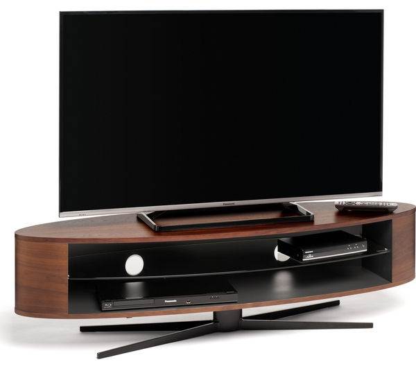 Excellent Wellliked Techlink TV Stands Sale Inside Buy Techlink Ellipse El140wsg Tv Stand Free Delivery Currys (View 32 of 50)