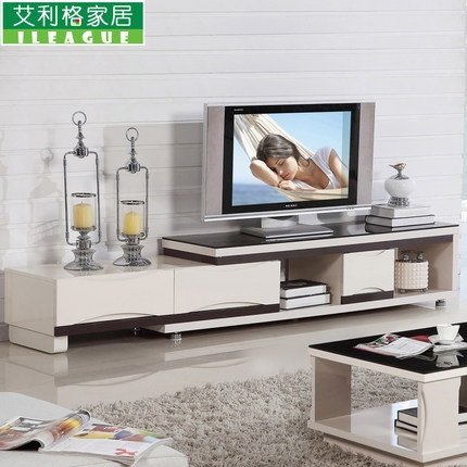 Excellent Wellliked TV Cabinets And Coffee Table Sets With Buy Minimalist Living Room Tv Cabinet Retractable Glass Coffee (Image 11 of 50)