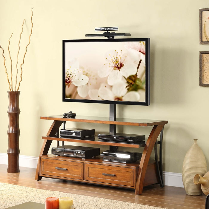Excellent Wellliked TV Stands With Drawers And Shelves In Tv Stands Glass Tv Stands For 60 Inch Tv Stands And Cabinets (View 50 of 50)