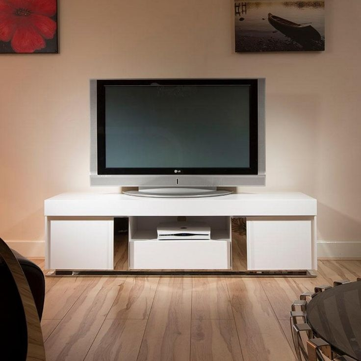 Excellent Wellliked White Gloss TV Stands With Drawers Within 46 Best Stylish Television Cabinets Images On Pinterest Living (Image 10 of 50)
