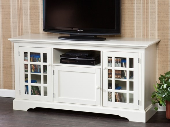 Excellent Wellliked White Tall TV Stands Regarding White Tv Stand Modern (Image 17 of 50)