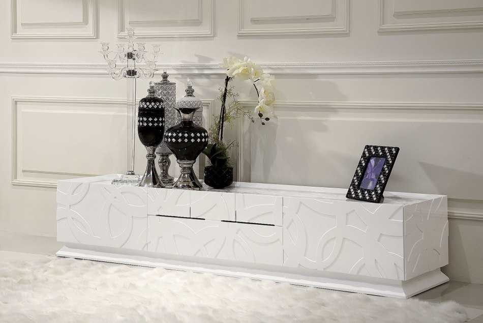 Excellent Widely Used All Modern TV Stands In Modern White Tv Stand (Image 17 of 50)