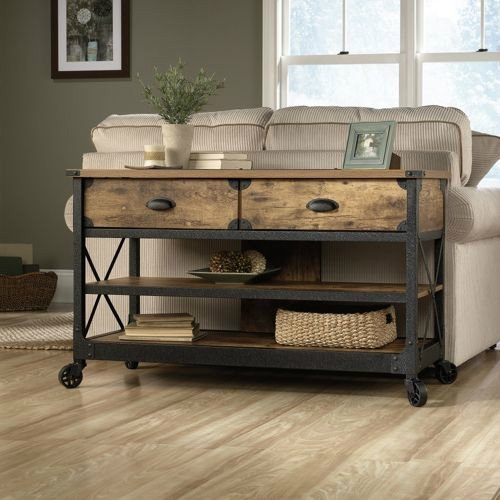Excellent Widely Used Coffee Tables And Tv Stands Inside Amazon Rustic Vintage Country Coffee Table End Table Tv (Image 10 of 50)
