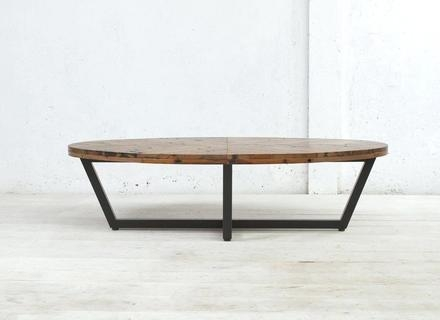 Excellent Widely Used Coffee Tables With Oval Shape Within Oval Coffee Table Wood Jerichomafjarproject (View 27 of 50)