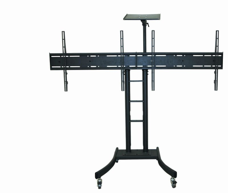 Excellent Widely Used Dual TV Stands Throughout Video Conferencing Standdual Tv Standled Tv Standtv Stnads (Image 18 of 50)