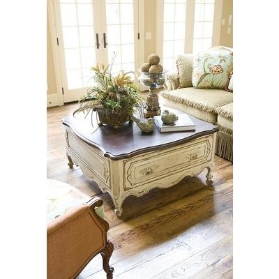 Excellent Widely Used French Country Coffee Tables Throughout French Country Coffee Table Sets French Country Coffee Table (Image 15 of 50)