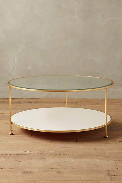 Excellent Widely Used Glass Coffee Tables With Shelf Intended For 25 Best Round Coffee Tables Ideas On Pinterest Round Coffee (View 44 of 50)