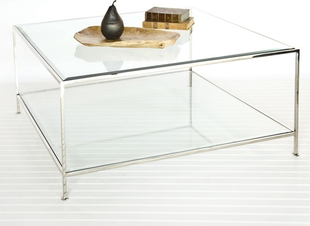 Featured Image of Glass Square Coffee Tables