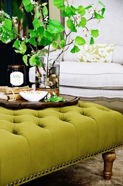 Excellent Widely Used Green Ottoman Coffee Tables With Regard To Best 20 Ottoman Coffee Tables Ideas On Pinterest Tufted Ottoman (Image 18 of 50)