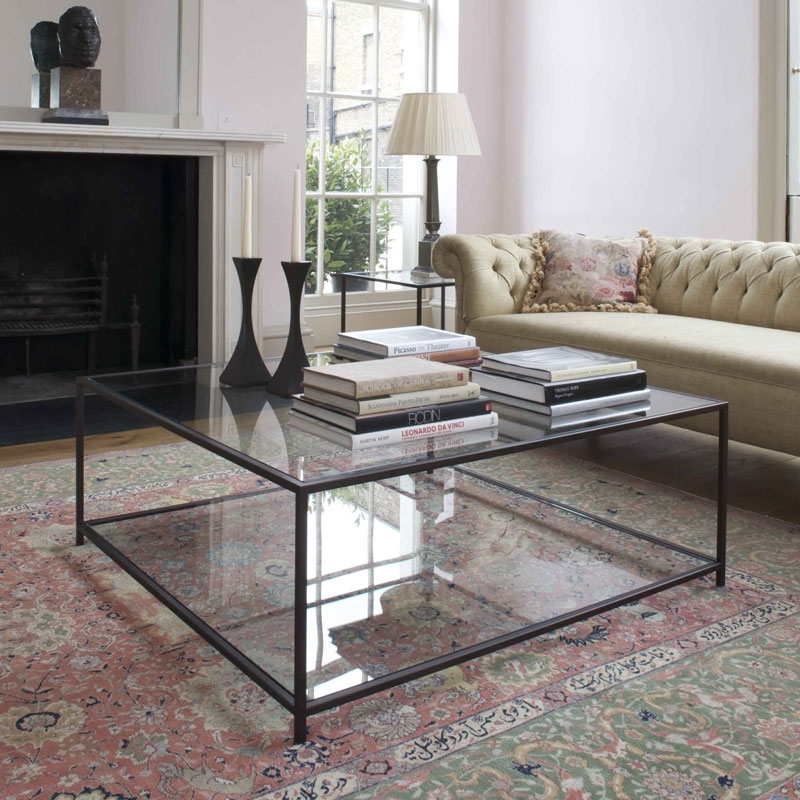 Excellent Widely Used Large Square Coffee Tables Intended For Large Ottoman Coffee Tables Square Glass Top Coffee Table Square (Image 26 of 50)