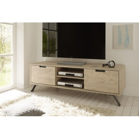 Excellent Widely Used Light Brown TV Stands For Parma Light Oak Tv Stand Tv Stands Sena Home Furniture (Image 21 of 50)