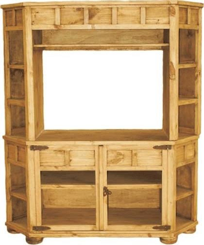 Excellent Widely Used Pine Corner TV Stands Throughout Best 25 Wood Corner Tv Stand Ideas On Pinterest Corner Tv (Image 12 of 50)