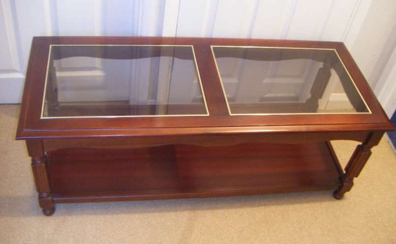 Excellent Widely Used Square Dark Wood Coffee Tables Intended For Coffee Table Uk Wood (Image 15 of 50)