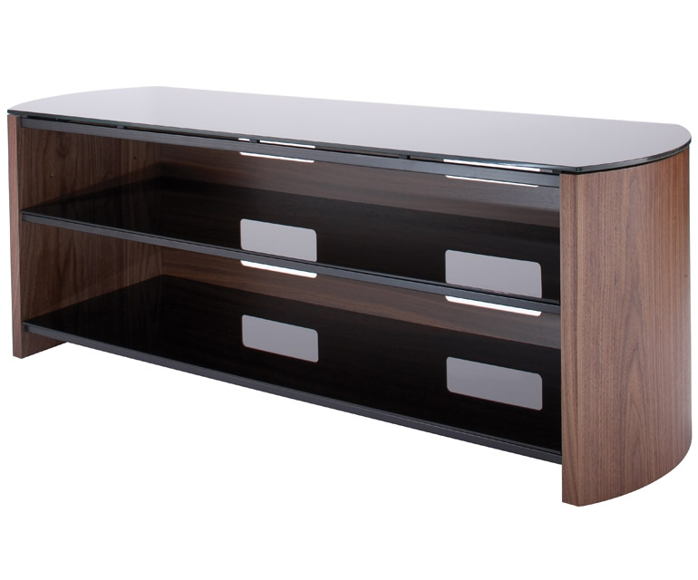 Excellent Widely Used Walnut TV Stands For Walnut Tv Cabinet Uk Bdi Cavo Natural Walnut Tv Stand With Walnut (View 17 of 50)