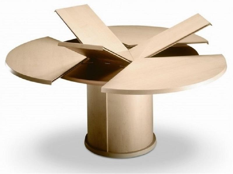 Expandable Round Dining Table — Interior Home Design Pertaining To Extendable Round Dining Tables (Image 10 of 20)