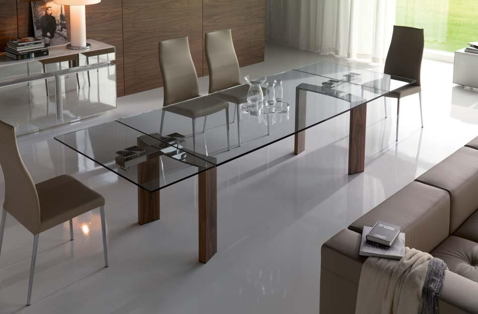 Extendable Dining Table For Dining Room | Home Furniture And Decor In Glass Extending Dining Tables (Image 5 of 20)
