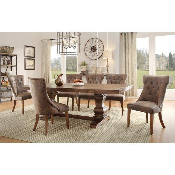 Extendable Kitchen & Dining Tables You'll Love | Wayfair With Regard To Extendable Round Dining Tables (Image 11 of 20)