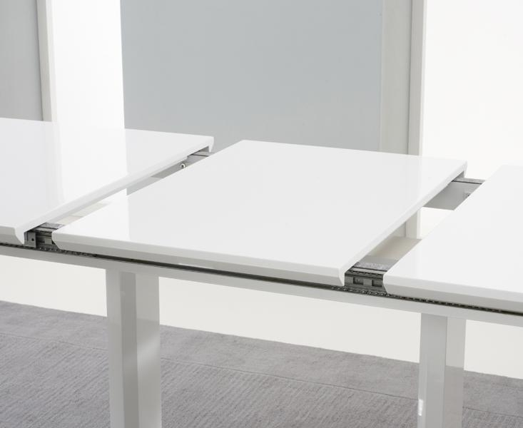 Extended Dining Tables With White Extendable Dining Tables (Image 8 of 20)