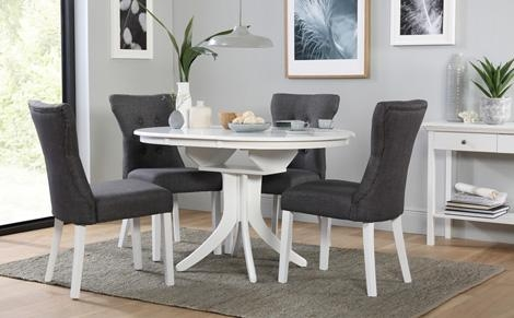 Extending Dining Table & Chairs – Extendable Dining Sets Intended For Extendable Dining Tables Sets (Image 12 of 16)