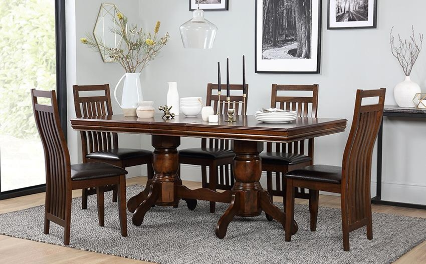Extending Dining Table & Chairs – Extendable Dining Sets Pertaining To Extending Dining Tables And 6 Chairs (Image 8 of 20)