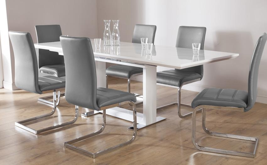 Extending Dining Table & Chairs – Extendable Dining Sets With Regard To Extendable Dining Tables With 6 Chairs (Image 9 of 20)