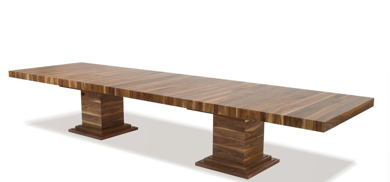 Extending Dining Tables In Solid Oak And Walnut Inside Extending Dining Tables (Image 13 of 20)