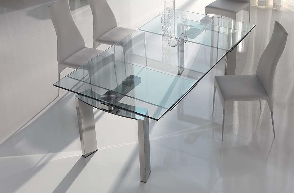 Extending Glass Dining Table : Glass Dining Table Will Make The Pertaining To Extending Glass Dining Tables (View 9 of 20)