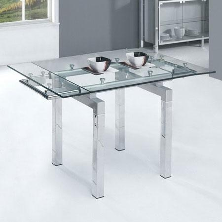 Extending Glass Dining Tables – Living Room Decoration Within Glass Extending Dining Tables (Image 9 of 20)