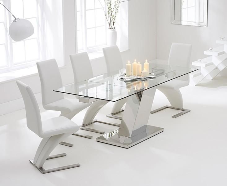 Extending Glass Table Sets | Oak Furniture Superstore Inside Extending Glass Dining Tables (View 7 of 20)