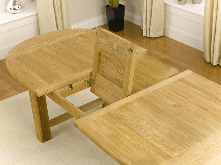 Extending Oak Dining Tables – Living Room Decoration Within Extending Oak Dining Tables (Image 11 of 20)