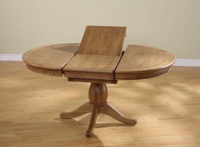 Extending Round Pedestal Dining Table – Starrkingschool For Extending Round Dining Tables (Image 10 of 20)
