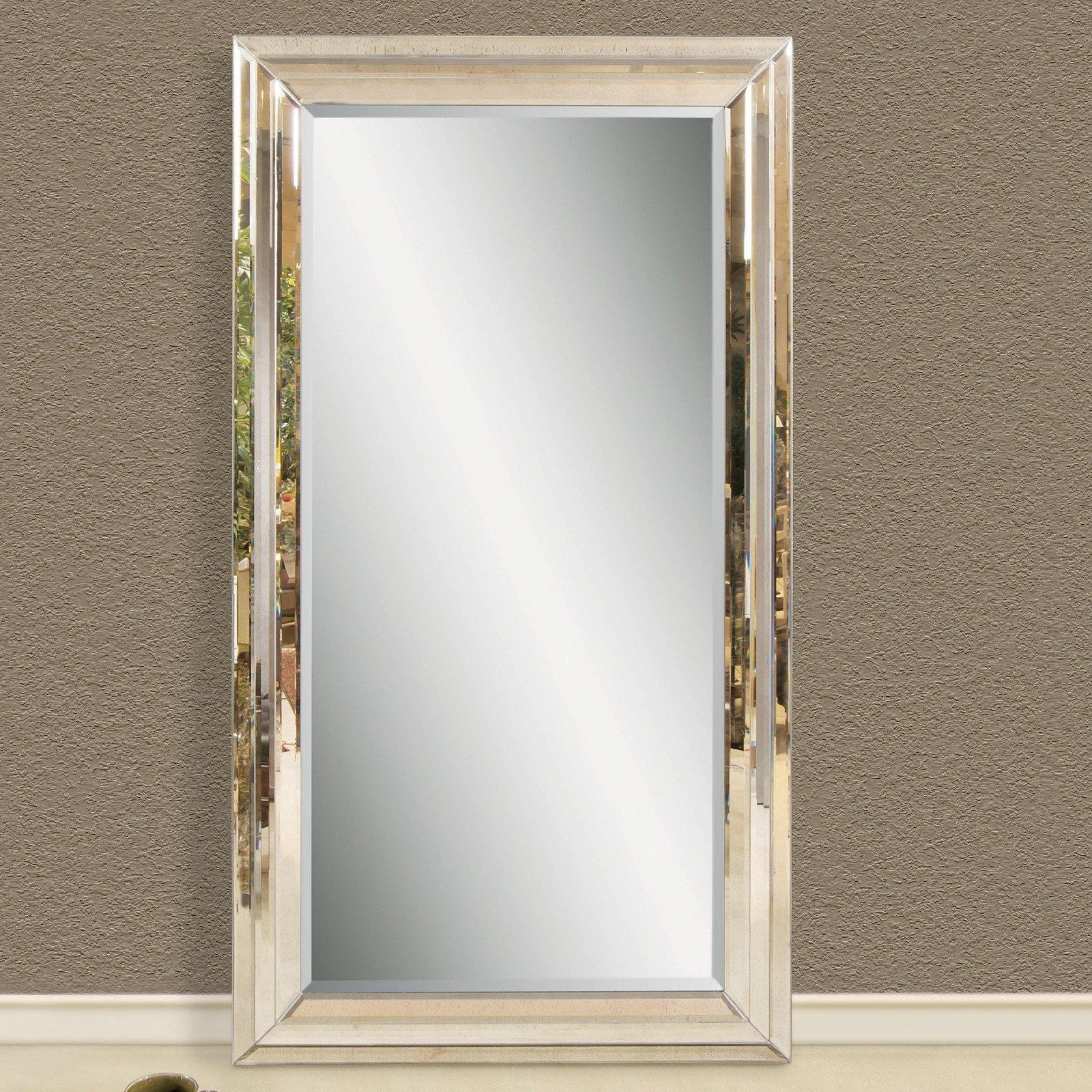 Extra Large Leaner Mirror – Harpsounds (Image 13 of 20)