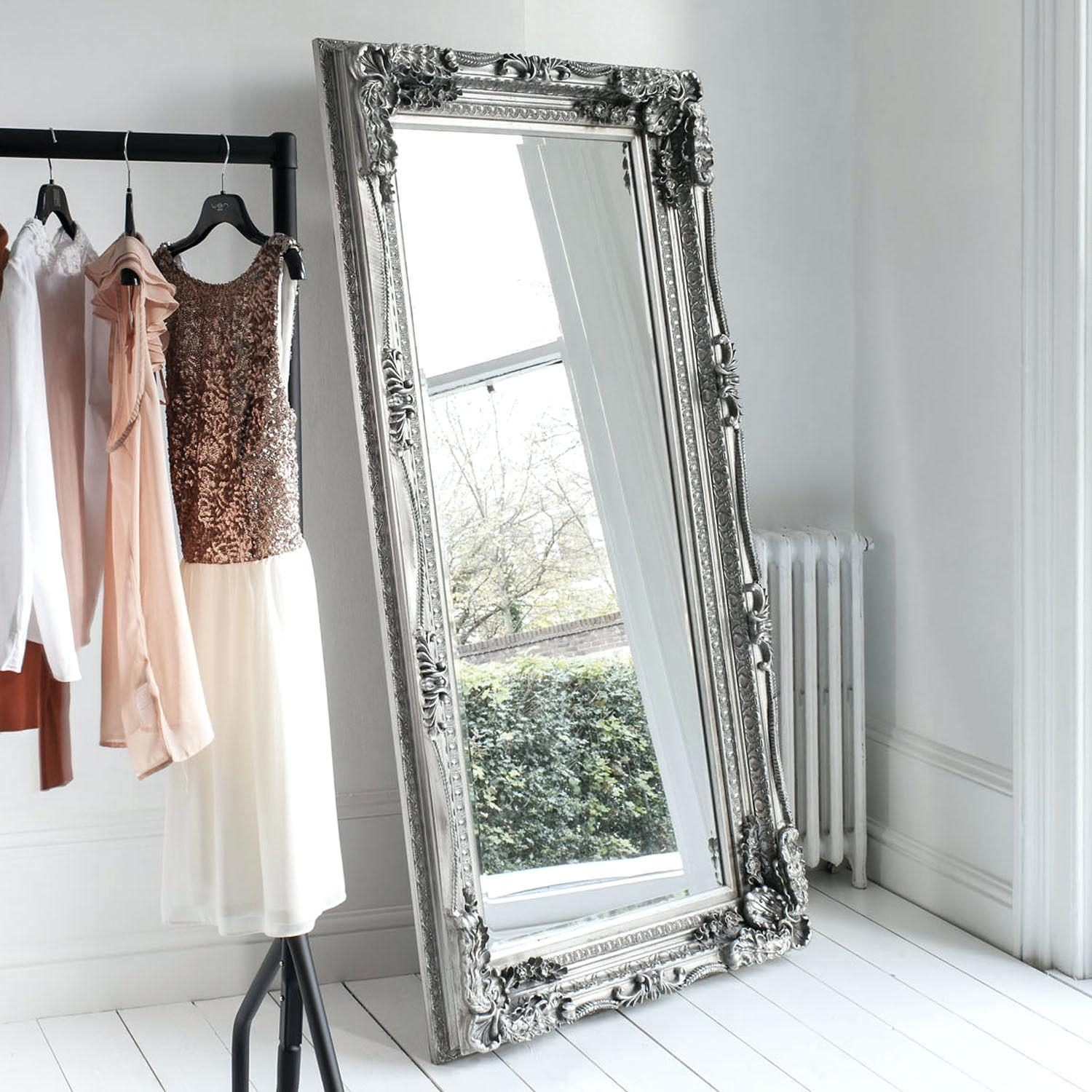 Extra Large Wall Mirrors – Amlvideo For Shabby Chic Large Mirror (Image 6 of 20)