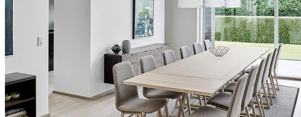 Extra Long Dining Tables | Extra Large Modern Tables In Solid Wood With Long Dining Tables (View 6 of 20)
