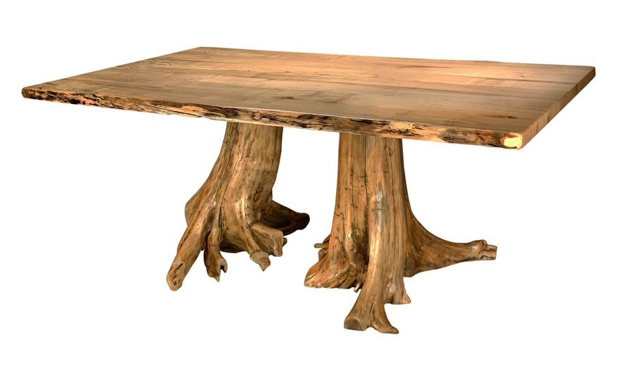 Extraordinary Design Tree Stump Dining Table | All Dining Room With Regard To Tree Dining Tables (Image 8 of 20)