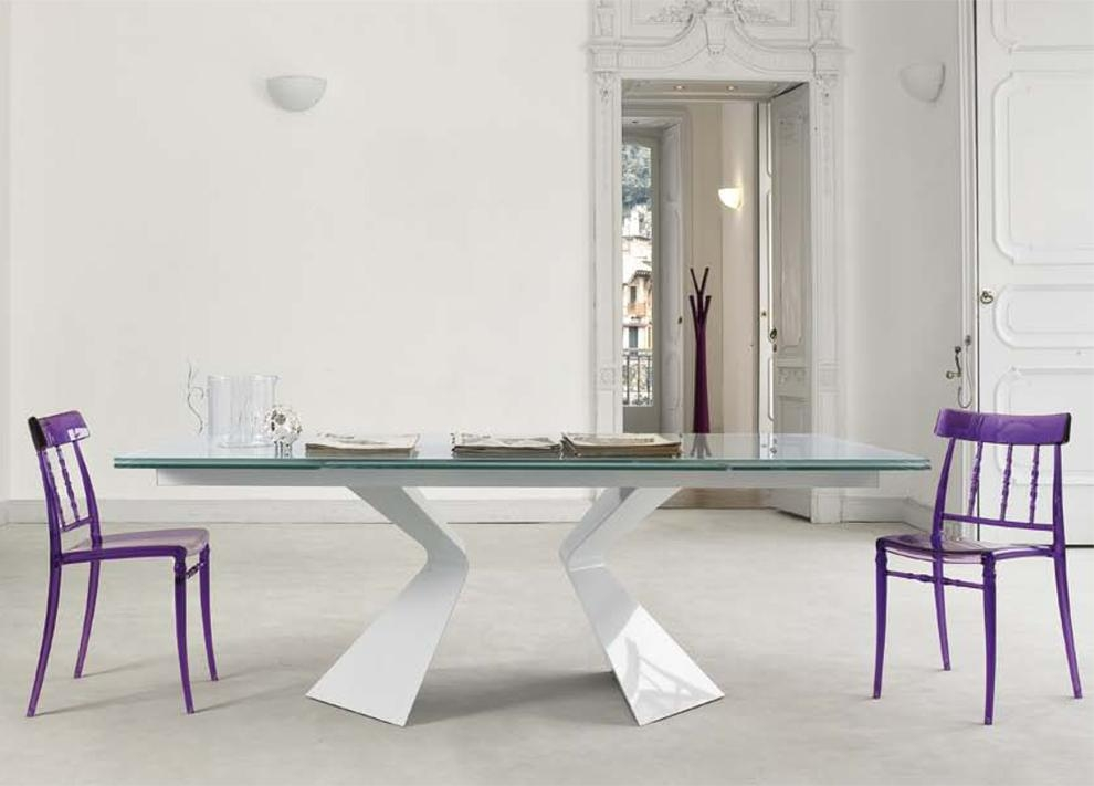 Extraordinary Extendable Glass Dining Room Table Images – 3D House Regarding Extendable Glass Dining Tables (View 14 of 20)