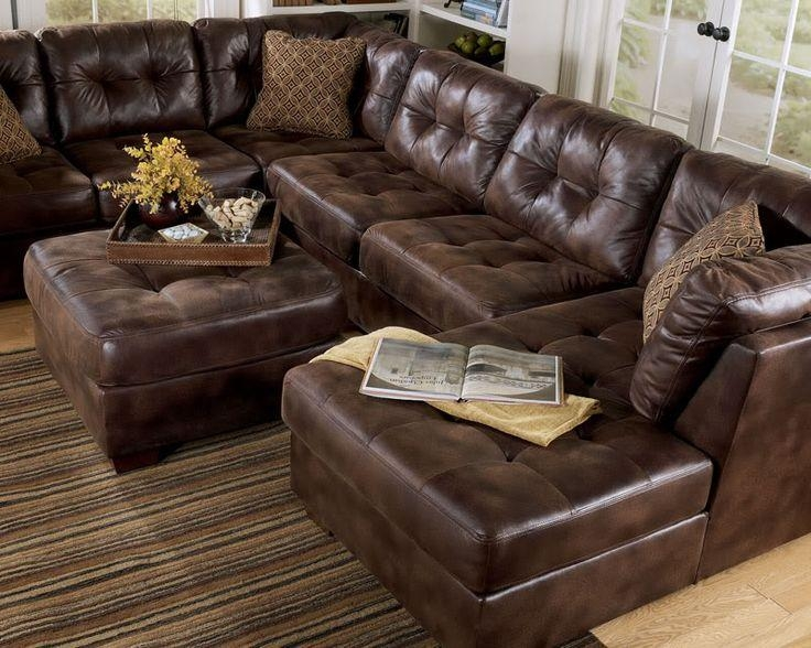 Fabric Sectional Torino Chenille He (Image 13 of 20)