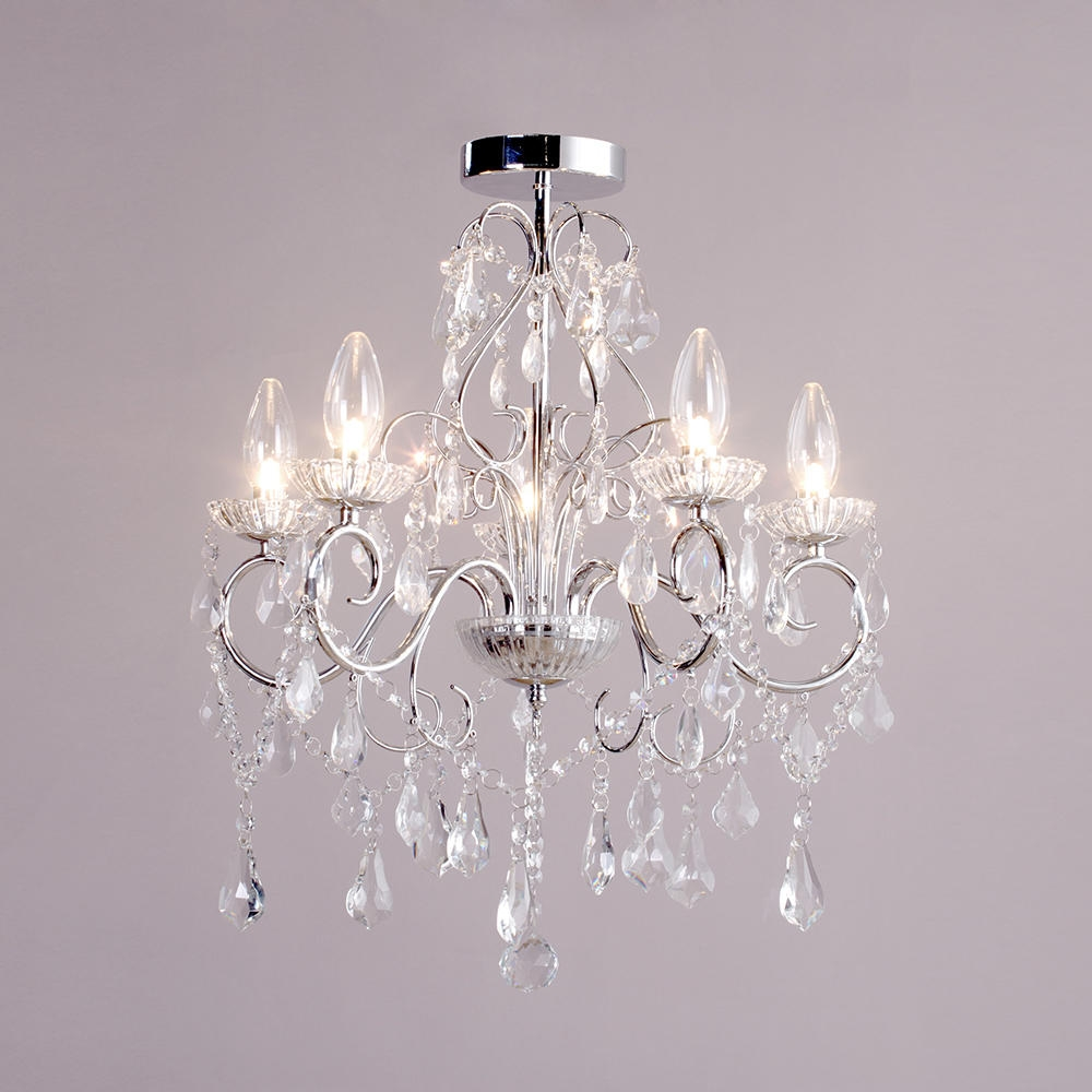 Fabulous Bathroom Chandelier Lighting Bathroom Chandeliers Chrome For Bathroom Chandelier Lighting (Image 11 of 25)