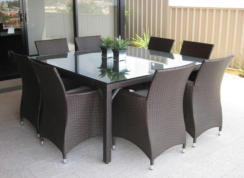 Fabulous Square Outdoor Dining Table For 8 Roman 8 Seat Square Within 8 Seat Outdoor Dining Tables (View 8 of 20)