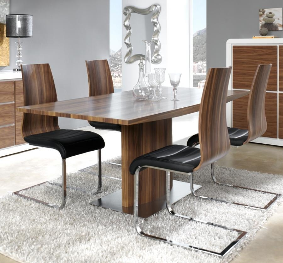 Fair Walnut Dining Table Sets Also Interior Design Ideas For Home Inside Walnut Dining Table Sets (View 20 of 21)