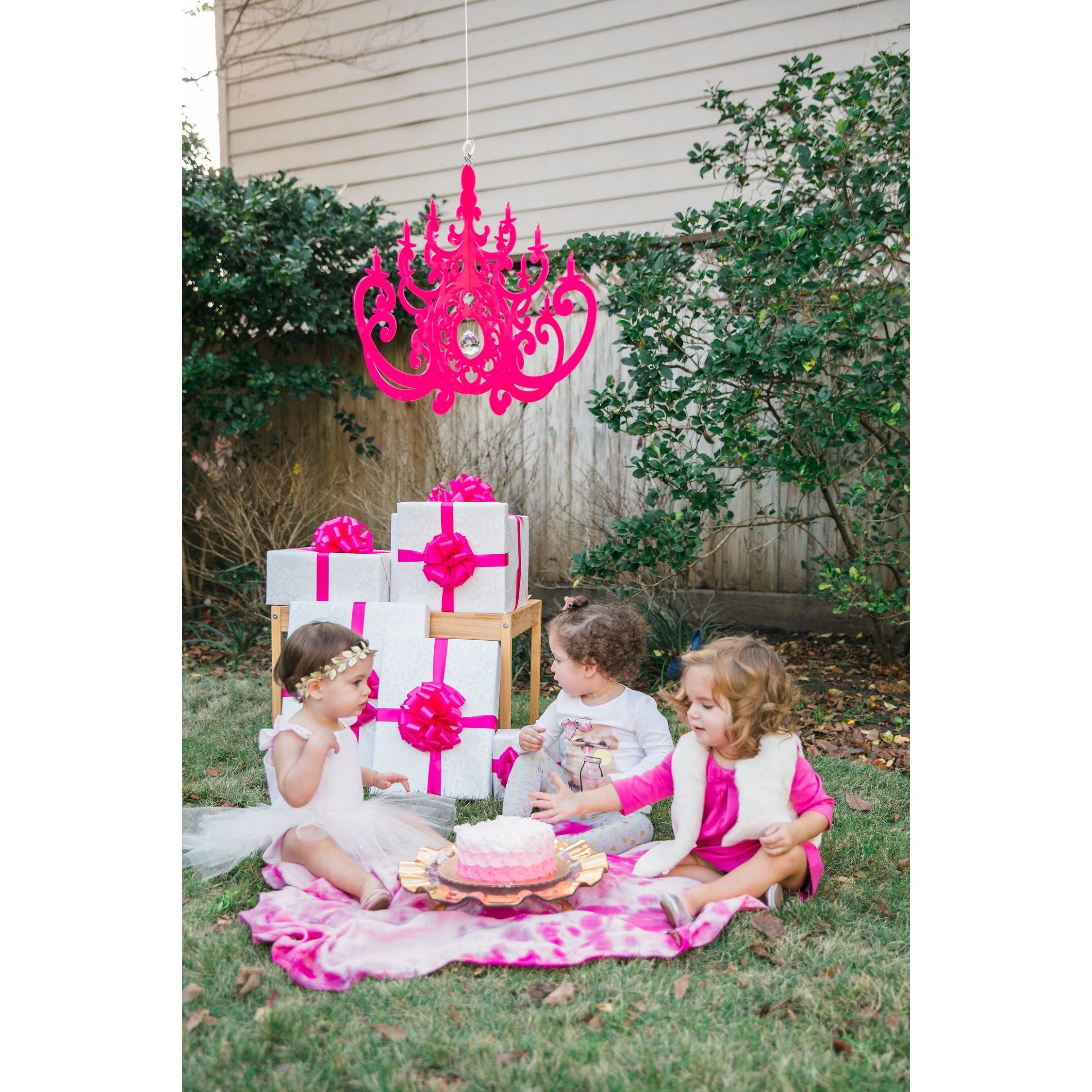 Fancy Hot Pink Chandelier Mobile For Turquoise And Pink Chandeliers (View 18 of 25)