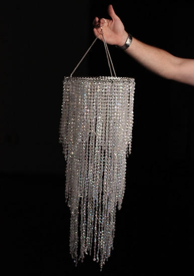 Fancy Party Chandelier Decoration Acrylic Chandelier Centerpiece With Faux Crystal Chandelier Centerpieces (View 5 of 25)